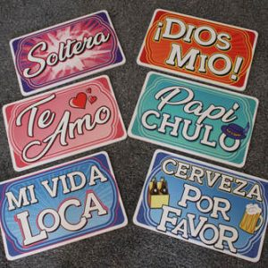 More Spanish signs