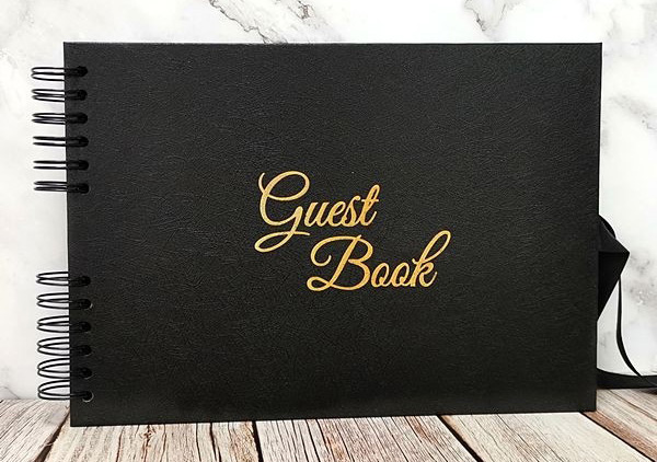 black_gold_guest_book